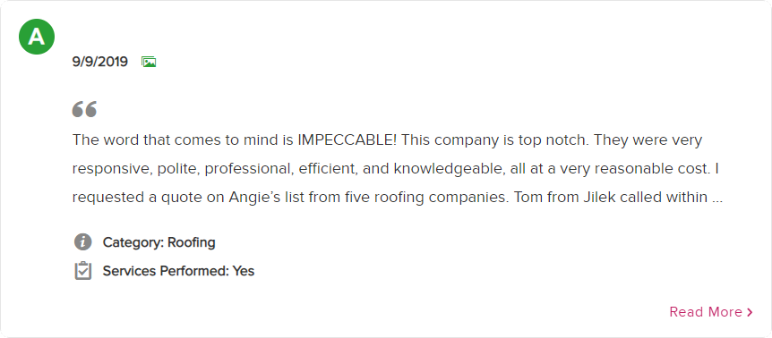 Angie's List Review 2